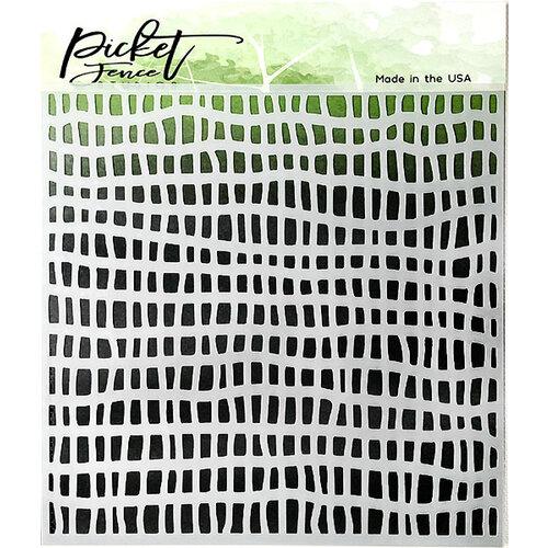 Picket Fence Studios - Stencil - Broken Fence