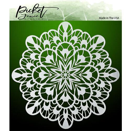 Picket Fence Studios - Stencil - Fancy Kaleidoscope