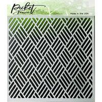 Picket Fence Studios - Stencil - Triple Weave