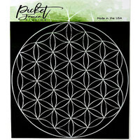 Picket Fence Studios - 6 x 6 Stencil - Flower of Life