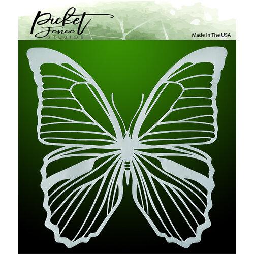 Picket Fence Studios - Stencils - Soar Butterfly