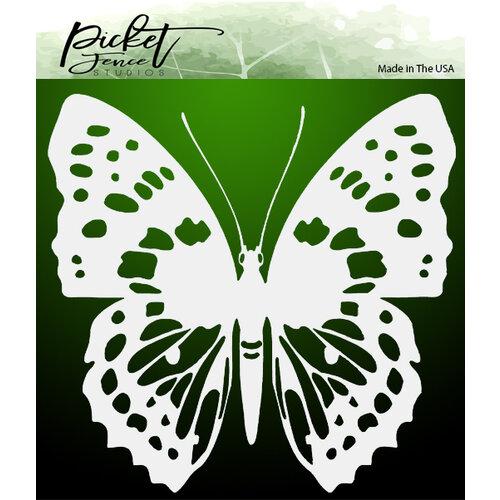 Picket Fence Studios - 6 x 6 Stencils - Wander Butterfly