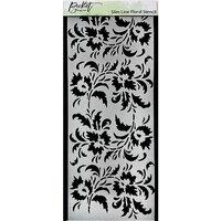 Picket Fence Studios - Stencils - Slim Line Floral