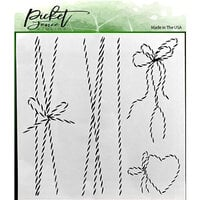 Picket Fence Studios - 6 x 6 Stencils - Twine