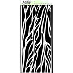 Picket Fence Studios - Stencils - Slimline - Details of a Wing