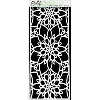 Picket Fence Studios - 4 x 10 Stencils - Slimline - Cut Flowers