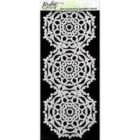 Picket Fence Studios - 4 x 10 Stencils - Slimline - Handcut Snowflake