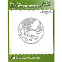 Picket Fence Studios - Slimline Die Cutting System - Dies - Mermaid Insert