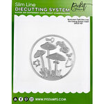 Picket Fence Studios - Slimline Die Cutting System Collection - Mushroom Field Insert