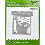 Picket Fence Studios - Slimline Die Cutting System Collection - Graduation Insert