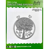 Picket Fence Studios - Slimline Die Cutting System Collection - Tree Scenery Insert