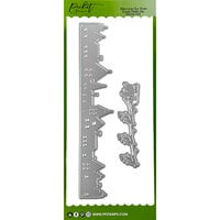 Picket Fence Studios - Slimline Die Cutting System Collection - Dies - Our Town Cover Plate