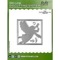 Picket Fence Studios - Slimline Die Cutting System Collection - Dies - Angel Insert