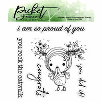 Picket Fence Studios - Clear Photopolymer Stamps - I am So Proud of You