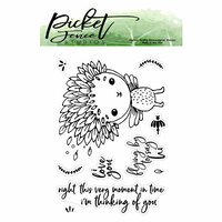 Picket Fence Studios - Clear Photopolymer Stamps - Flying By to Say Hi