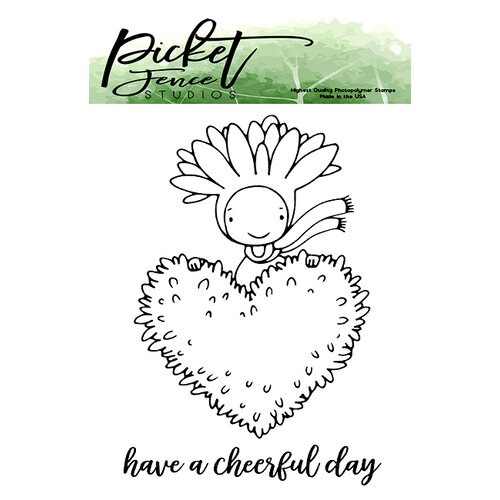 Picket Fence Studios - Clear Photopolymer Stamps - Have A Cheerful Day