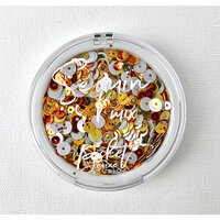 Picket Fence Studios - Sequin Mix - Candy Corn Shot