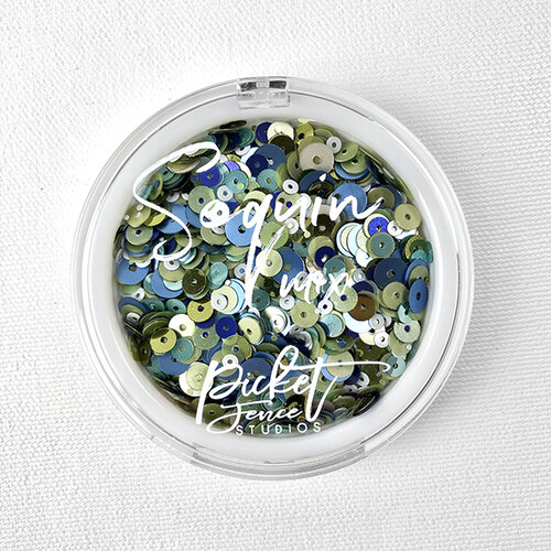 Picket Fence Studios - Sequin Mix - Blueberry Mojito