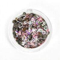 Picket Fence Studios - Sequin Mix - Pink Camo