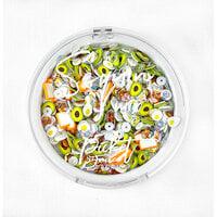 Picket Fence Studios - Sequin and Embellishments Mix - Avocado Toast