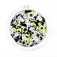 Picket Fence Studios - Halloween - Sequin and Embellishments Mix - Eyeballs