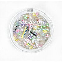 Picket Fence Studios - Sequin and Embellishments Mix - Birthday Candles