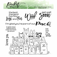 Picket Fence Studios - Clear Photopolymer Stamps - Part of the Pack
