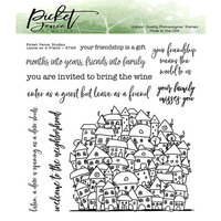 Picket Fence Studios - Clear Photopolymer Stamps - Leave As A Friend