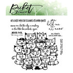 Picket Fence Studios - Clear Photopolymer Stamps - Litter of Cats