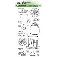 Picket Fence Studios - Clear Photopolymer Stamps - Let's Decorate
