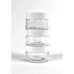 Picket Fence Studios - 1 oz Jars With Lids - 3 Pack