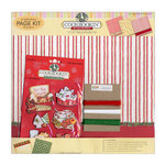 PJK Designs - Cookbookin' - Sugar and Spice Collection - 12 x 12 Page and Project Kit - Sugar and Spice, CLEARANCE