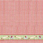 PJK Designs - Cookbookin' - Sugar and Spice Collection - 12 x 12 Paper - Christmas Gingham