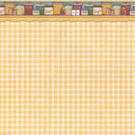 PJK Designs - Cookbookin' - Cookin' Up Memories Collection - 12 x 12 Paper - Pantry