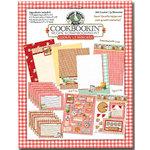 PJK Designs - Cookbookin' - Cookin' Up Memories Collection - Recipe Scrapbooking Kit