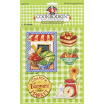 PJK Designs - Cookbookin' - Cookin' Up Memories Collection - 3 Dimensional Stickers - Preserving Memories, CLEARANCE