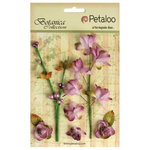 Petaloo - Botanica Collection - Floral Embellishments - Ephemera - Lavender Purple