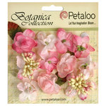 Petaloo - Botanica Collection - Floral Embellishments - Minis - Soft Pink