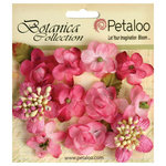 Petaloo - Botanica Collection - Floral Embellishments - Minis - Fuchsia