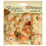 Petaloo - Botanica Collection - Floral Embellishments - Minis - Peach