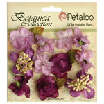 Petaloo - Botanica Collection - Floral Embellishments - Minis - Lavender Purple