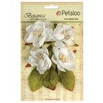 Petaloo - Botanica Collection - Floral Embellishments - Blooms - White