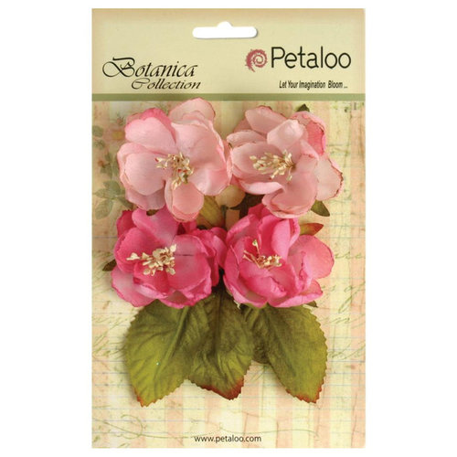 Petaloo - Botanica Collection - Floral Embellishments - Blooms - Soft Pink