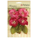 Petaloo - Botanica Collection - Floral Embellishments - Blooms - Fuchsia