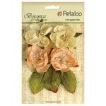 Petaloo - Botanica Collection - Floral Embellishments - Blooms - Peach