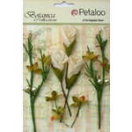 Petaloo - Botanica Collection - Floral Embellishments - Calla Lilies and Berries - Ivory