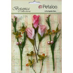 Petaloo - Botanica Collection - Floral Embellishments - Calla Lilies and Berries - Soft Pink