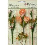 Petaloo - Botanica Collection - Floral Embellishments - Calla Lilies and Berries - Peach
