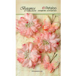 Petaloo - Botanica Collection - Floral Embellishments - Mums and Butterflies -Soft Pink