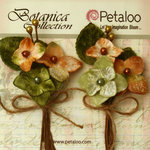 Petaloo - Botanica Collection - Floral Embellishments - Velvet Hydrangea - Sage